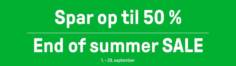 End of summer SALE