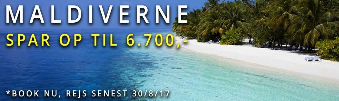 Maldiverne sommertilbud