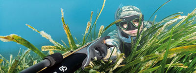 Udstyr til undervandsjagt